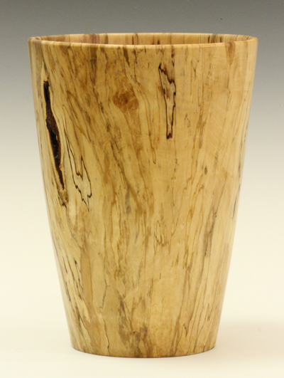 Beech vase by Keith Fenton