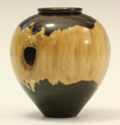 Blackwood vase