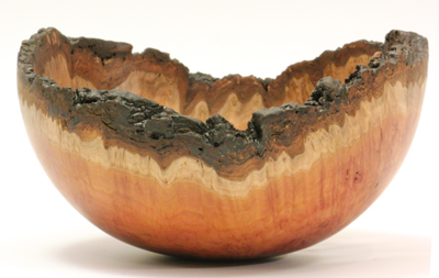Gimlet burr bowl by Paul Hannaby