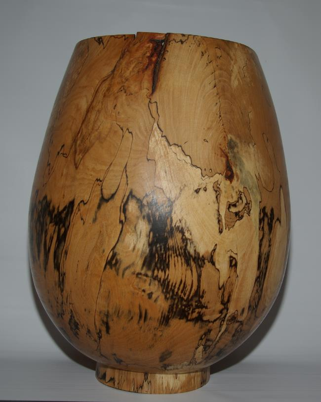 spalted beech vessel  by Keith Fenton